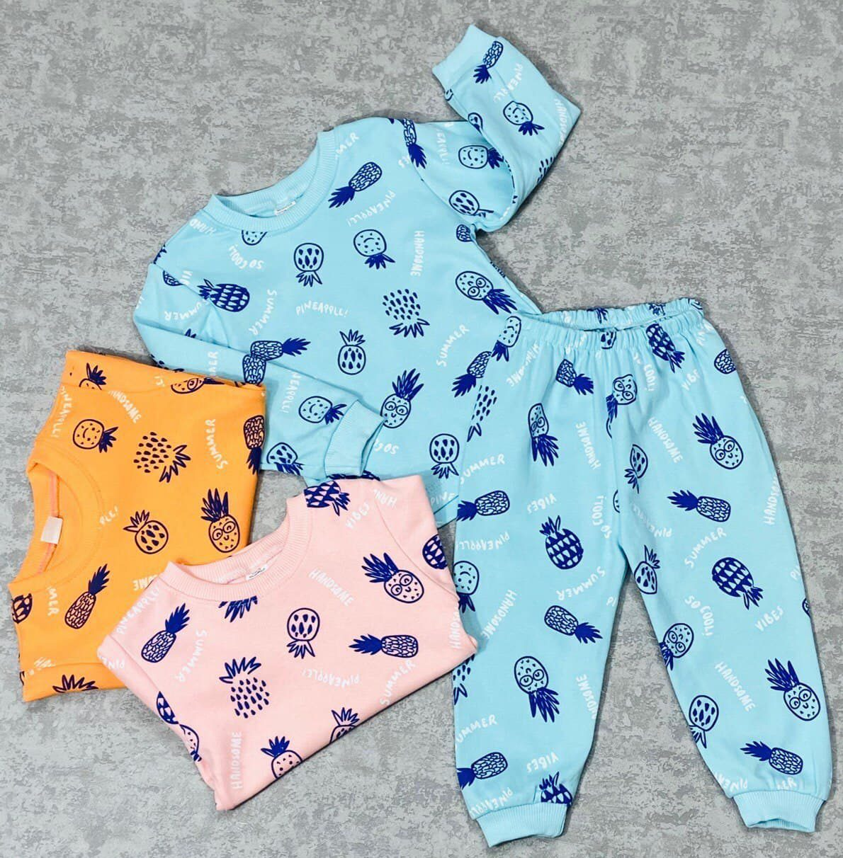 Пижама для девочек (ананас)