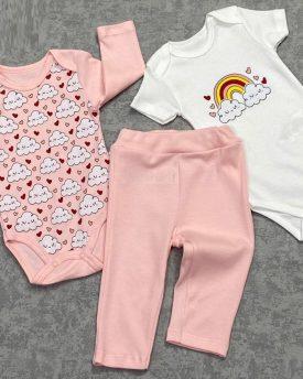 Комплект для малышей (3 предмета) (цвет беж)