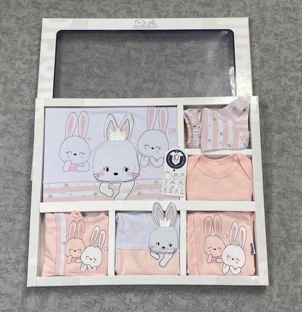 Комплект на выписку (10 предметов) (арт 12-47)