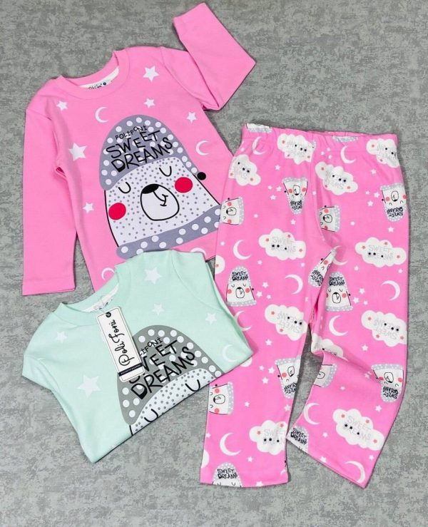 Пижама на девочку (гарантия качества 100%) (арт 11-24)