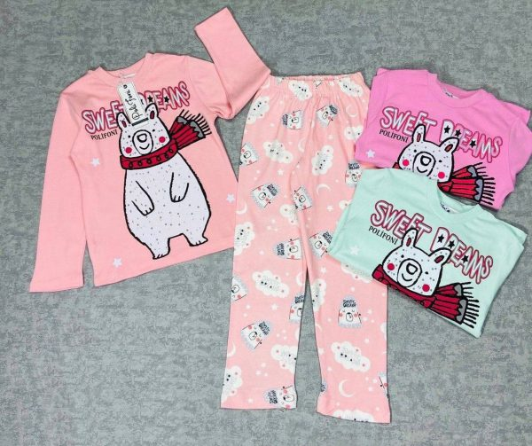 Пижама на девочку (гарантия качества 100%) (арт 11-26)
