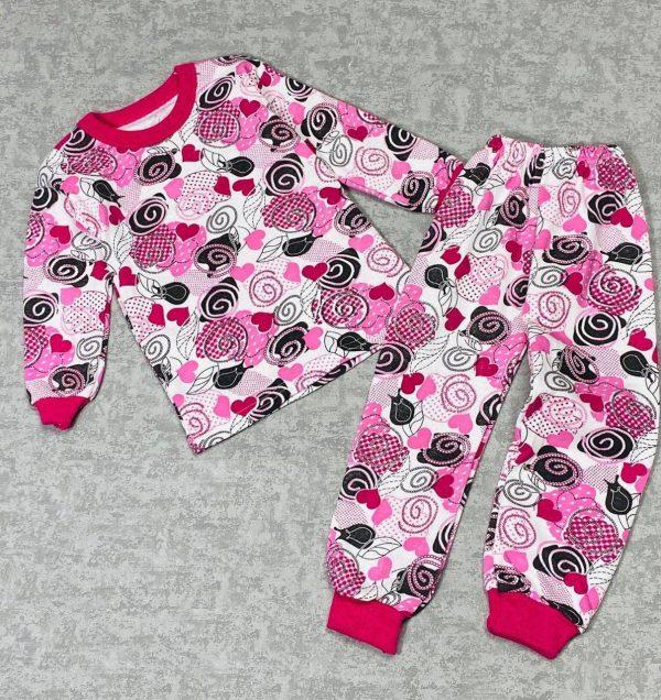 Пижама на девочку (флис) (маломерит)  (арт 11-31)