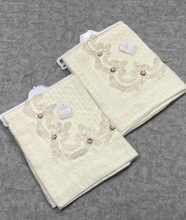 Вязаное одеяло-плед (арт 08-17)