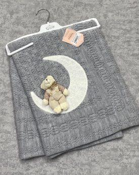 Одеяло детское  вязаное (арт 08-11)