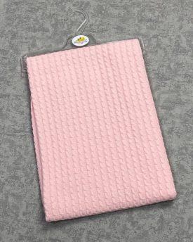 Вязаное одеяло-плед (арт 08-18)